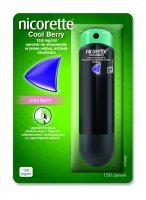 Nicorette Spray 1mg/dawkę (Cool Berry) 150 dawek