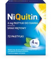 Niquitin 4 mg 72 pastylek do ssania
