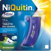 Niquitin Mini 1,5 mg 20 tabletek do ssania