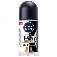 NIVEA MEN Black & White Invisible Ultimate Impact Dezodorant Roll-on 50 ml