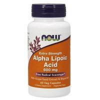 NOW Alpha Lipoic Acid 600 mg 60 kapsułek
