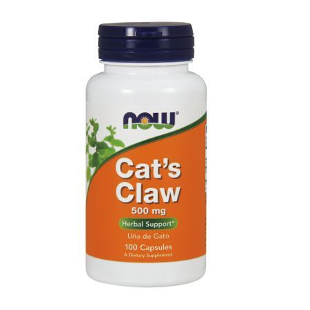 NOW Cat's Claw 500 mg 100 kapsułek