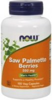 NOW Saw Palmetto Berries 550 mg 100 kapsułek