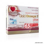 OLIMP Gold Omega 3 plus 60 kaps.