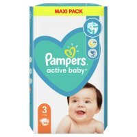 Pampers Active Baby 3 (6-10kg) 66 szt.