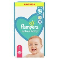Pampers Active Baby 4 (9-14kg) 58 szt.