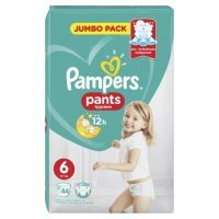 Pampers Pants ExLarge 6 (15kg+) 44 szt.