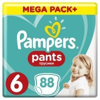 Pampers Pants ExLarge 6 (15kg+) 88 szt.