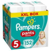 PAMPERS PANTS JUNIOR 5 (12-17KG) 152 szt.