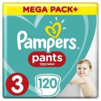 Pampers Pants Midi 3 (6-11 kg) 120 szt.