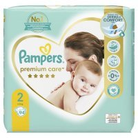 Pampers Premium Care Mini 2 (4-8kg) 94 szt.