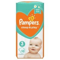 Pampers Sleep&Play Midi 3 (6-10kg) 58 szt.