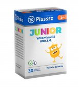 Plusssz Junior Witamina D3 30 tabl.