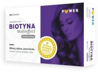 PUWER Biotyna Multieffect 30 tabletek