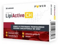 PUWER LipiActive CH 30 tabletek / Cholesterol