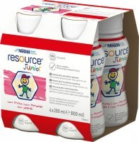 Resource Junior (smak truskawkowy) 4 x 200 ml