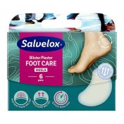 SALVEQUICK FOOT CARE Plaster na pęcherze i otarcia (40mm X 61mm) 6 szt.