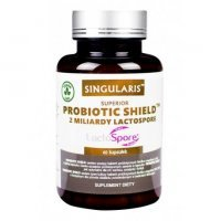 SINGULARIS Probiotic SHIELD 60 kapsułek