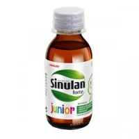 Sinulan Forte Junior 120 ml / Zdrowe zatoki