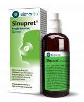 Sinupret krople 100 ml - zatoki