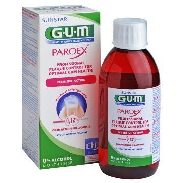 SUNSTAR GUM Paroex® 0.12% Płyn do płukania 300 ml