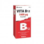 Vita B12 1000 mcg 30 tabletek do ssania