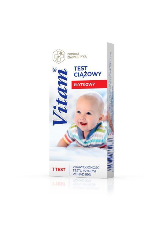 ed7cee37eaae73 VITAM Test ciążowy (płytkowy) 1 szt. - testy ciążowe - Planowanie ...