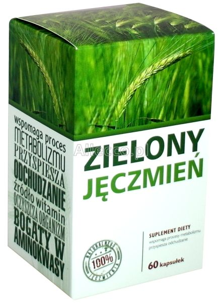 green barley plus ile tabletek